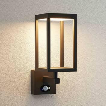 Lucande Qimka kinkiet zewnętrzny LED z czujnikiem