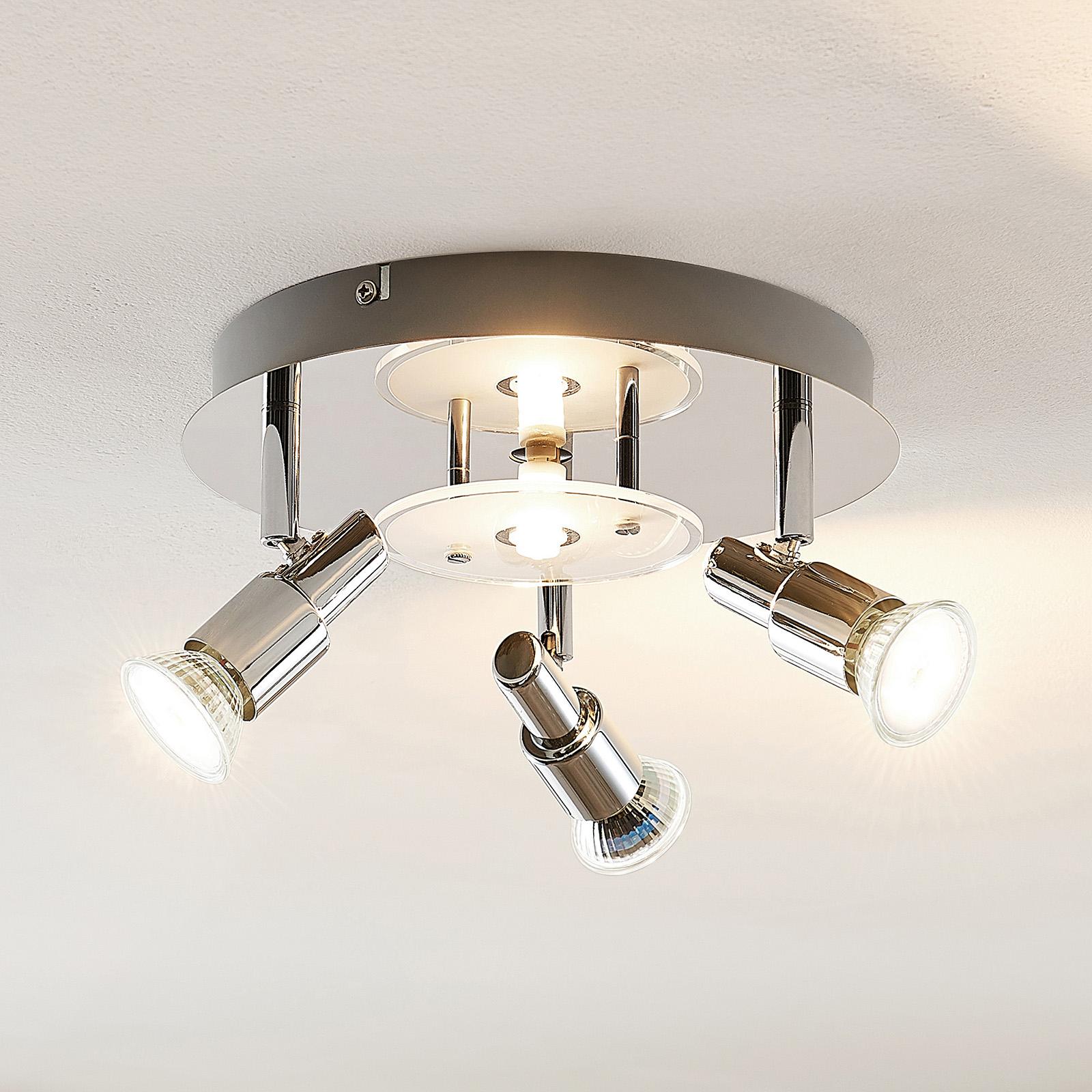 ELC Pelagia LED-taklampe, 4 lyskilder