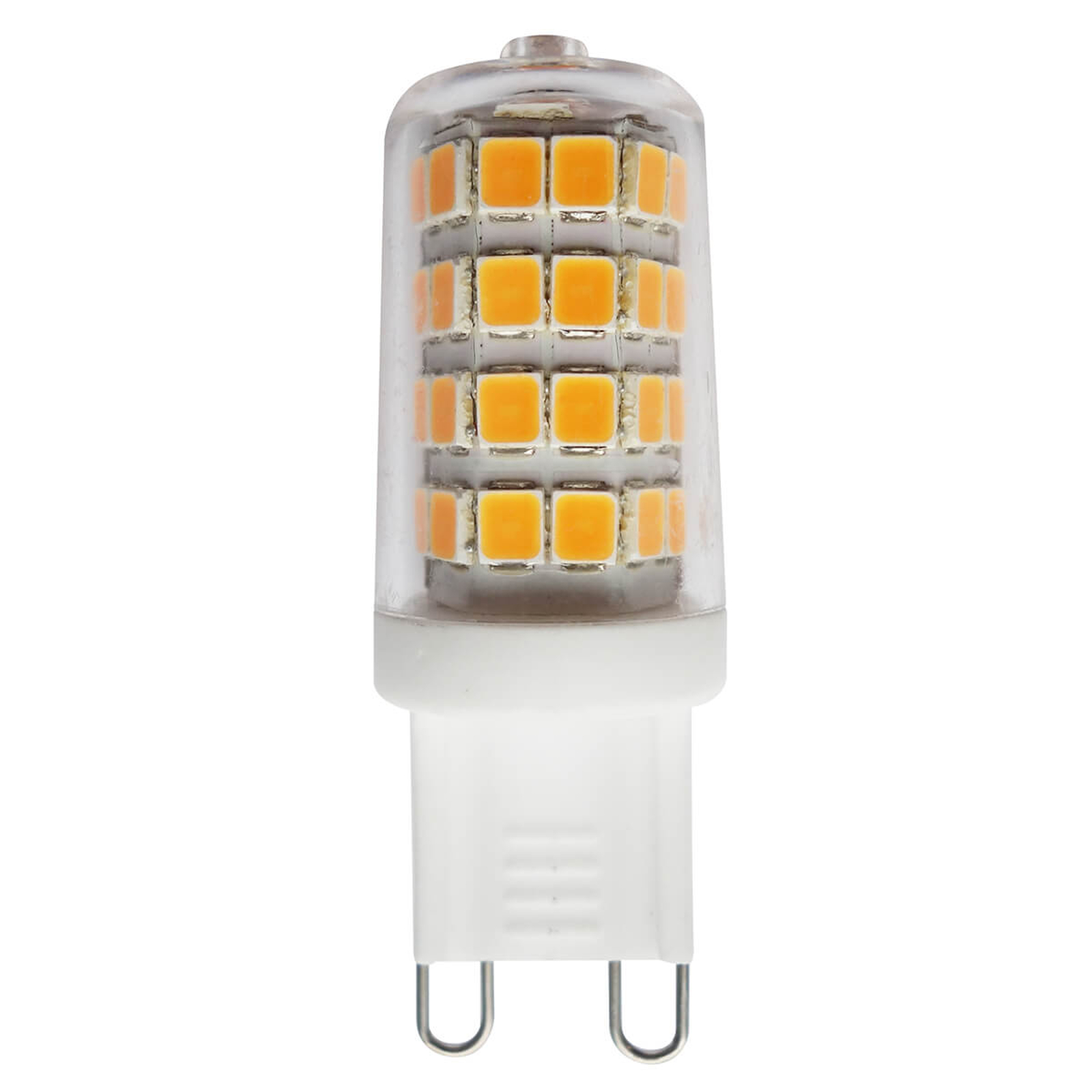 Ampoule à broche LED G9 3W 827, transparente