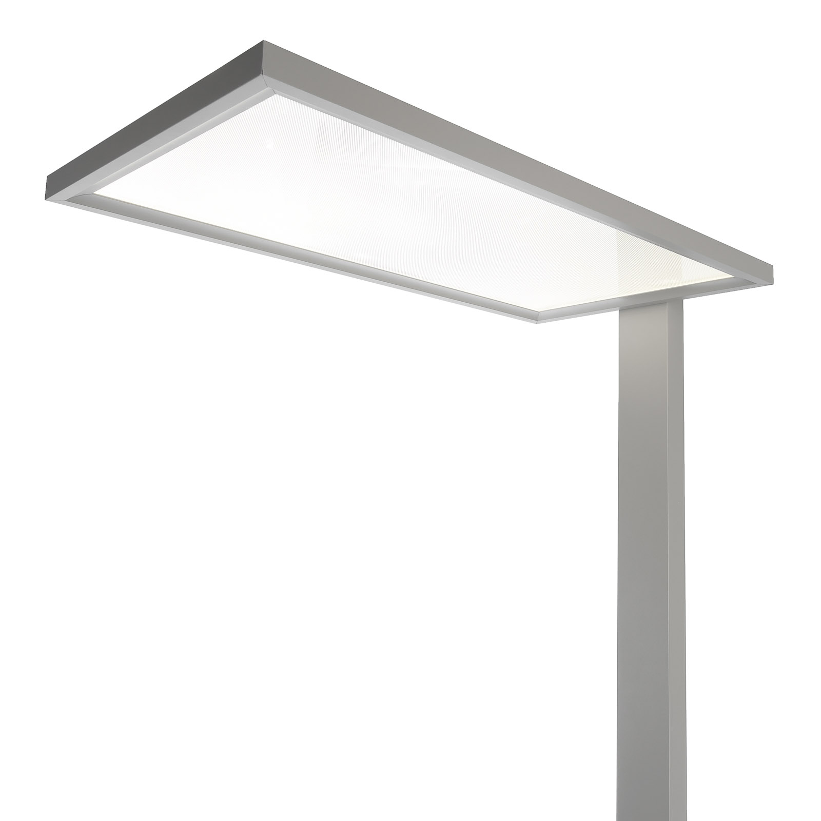LED vloerlamp Office One transparant touchdim