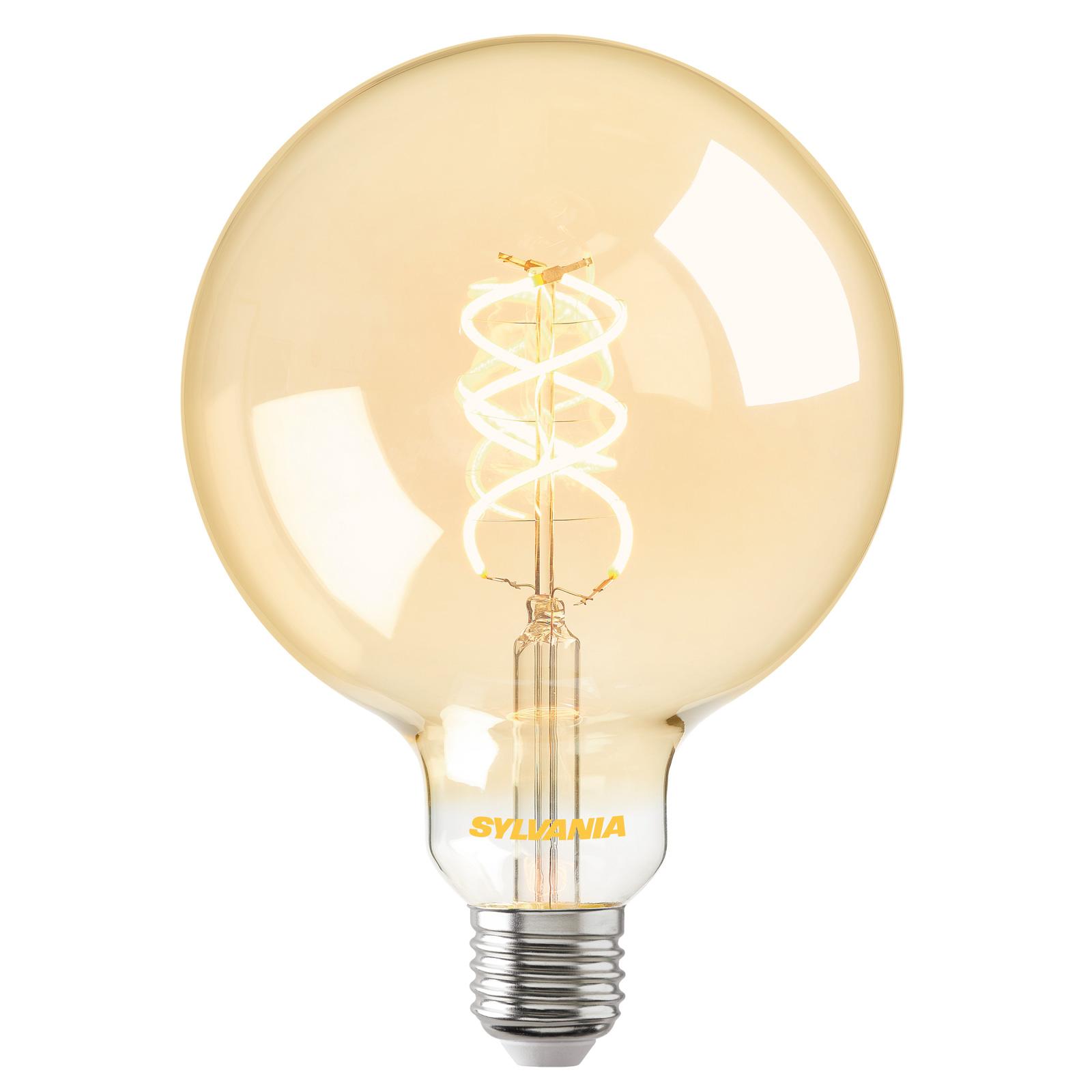 ToLEDo Vintage LED-globepære E27 G120dim 5,5W guld
