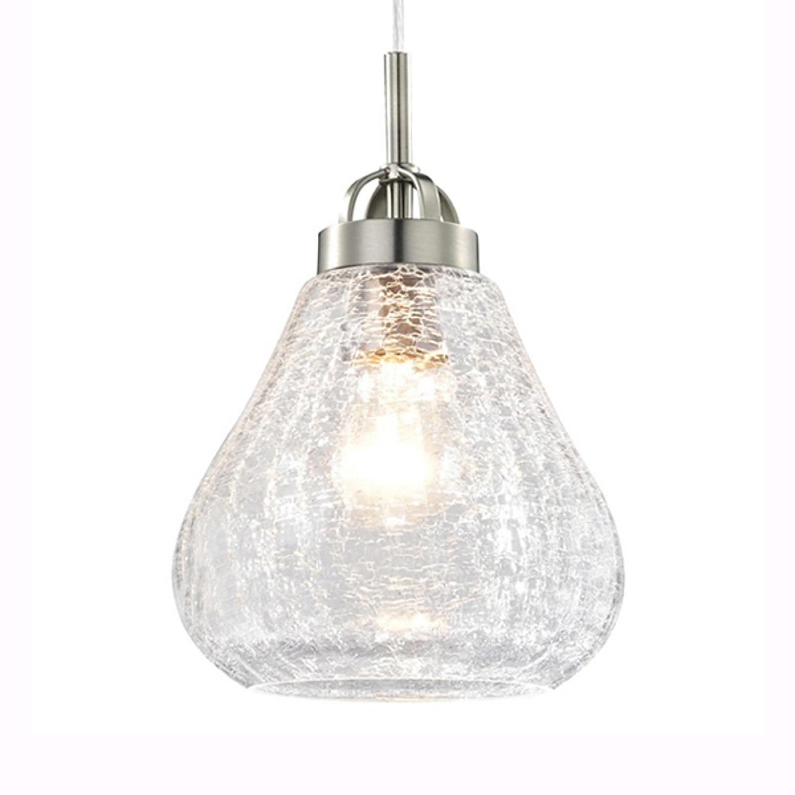 Westinghouse hengelampe 6309140, bruddglass-stil