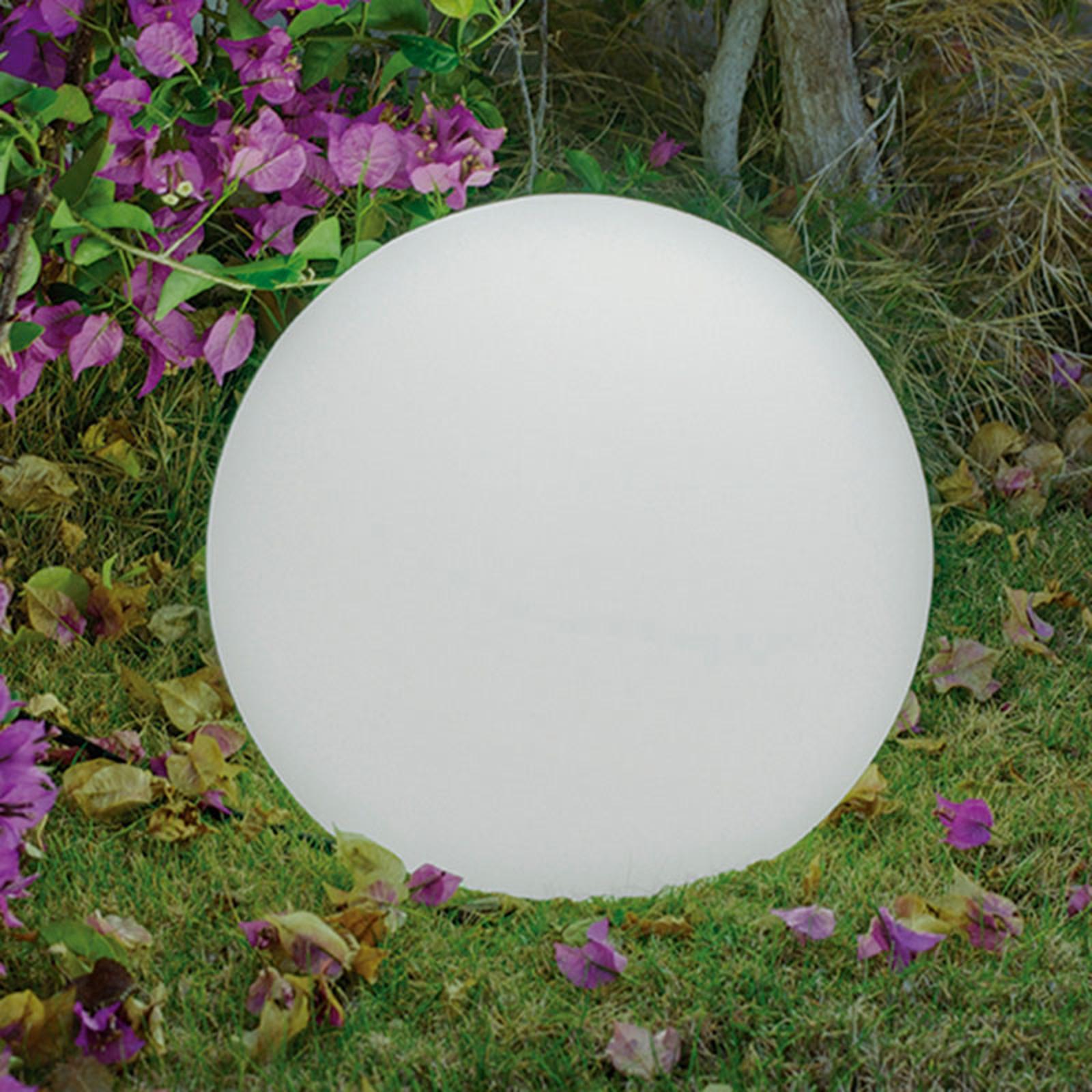 Newgarden Buly golvlampa i kulform, Ø 20 cm