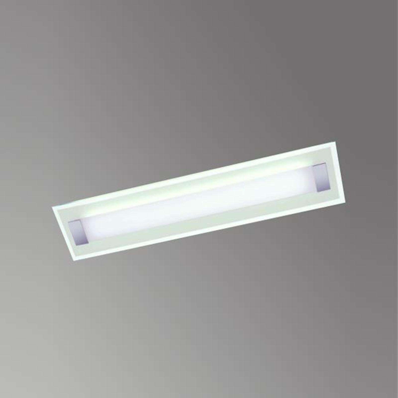 Plafoniera LED Xena L con vetro temprato