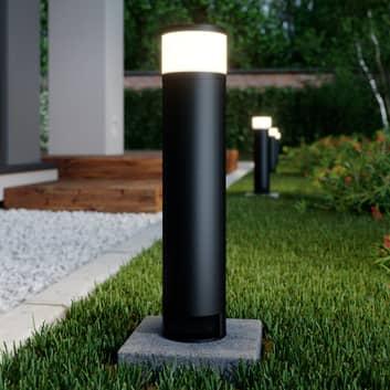 Lucande Corban lampa cokołowa drzwiczki 2 gniazda
