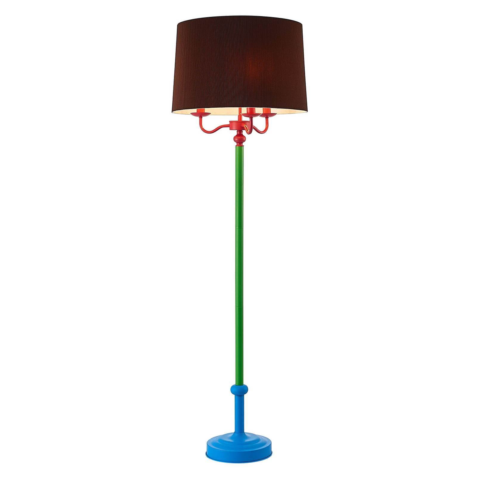 Lindby Christer floor lamp, multicoloured, 160cm