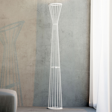 Rotaliana Lightwire F1 lampadaire LED, blanc