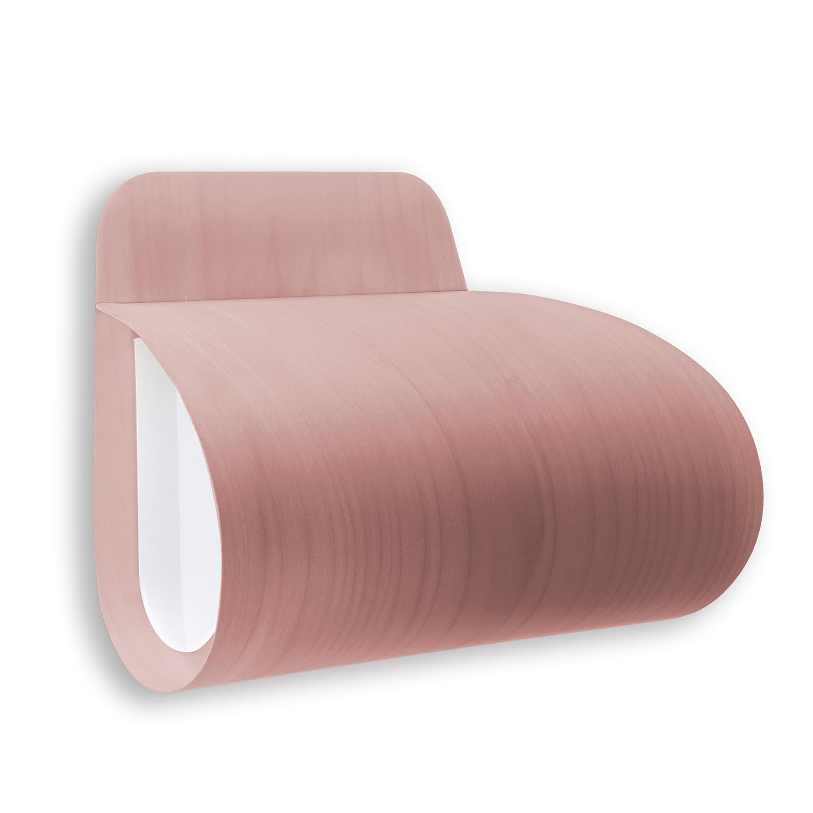 LZF Pleg LED-Wandleuchte 0-10V dim rosé