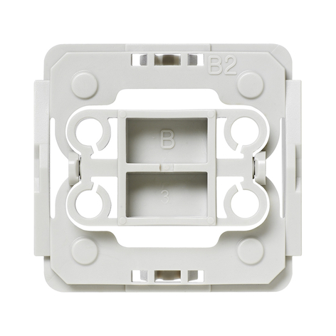 Homematic IP Adapter für Berker Schalter B2 3x