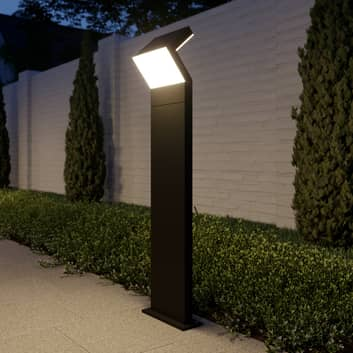 Arcchio Havin borne lumineuse LED, gris foncé