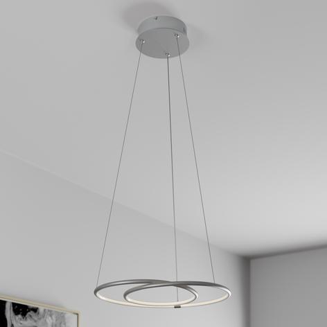Lindby Lucy LED-Hängeleuchte, 45cm, aluminium