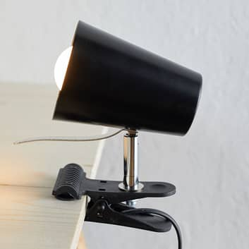 Lámpara de pinza Clampspots en aspecto moderno