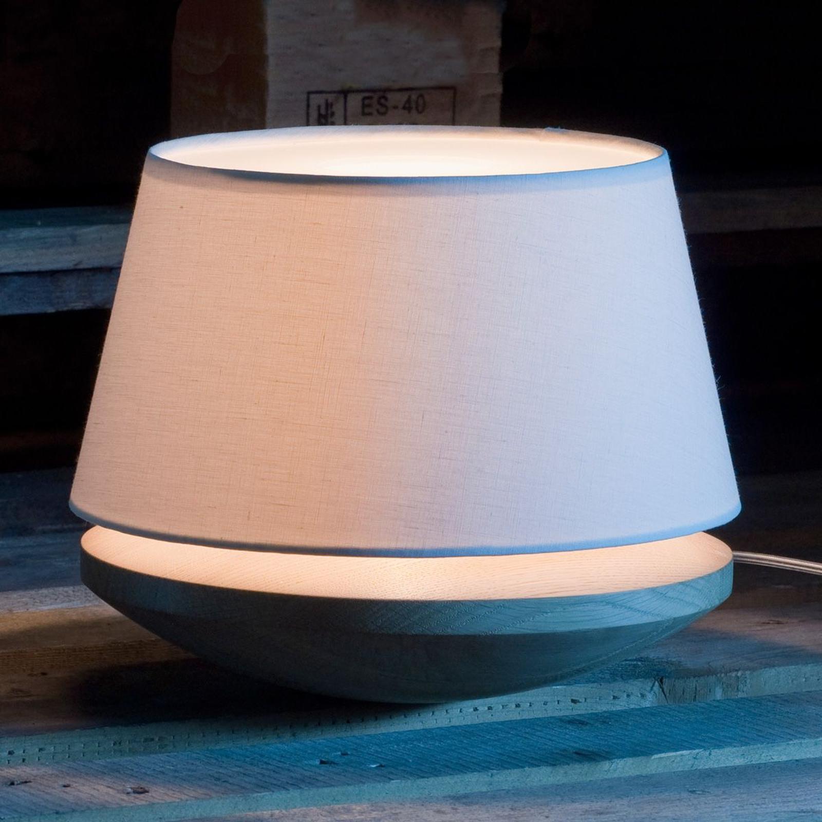 Kjell – stolná lampa s ľanovým tienidlom, krémová_2600496_1
