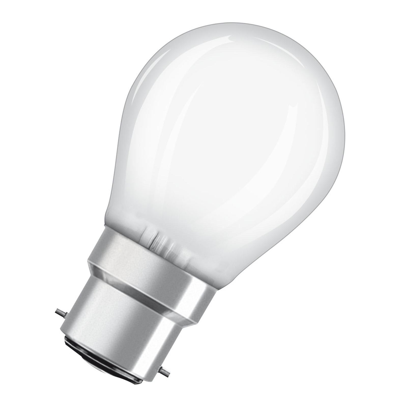 OSRAM ampoule LED B22d Classic P mat 2,8W