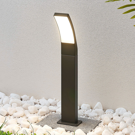 LED tuinpadverlichting Ilvita, antraciet