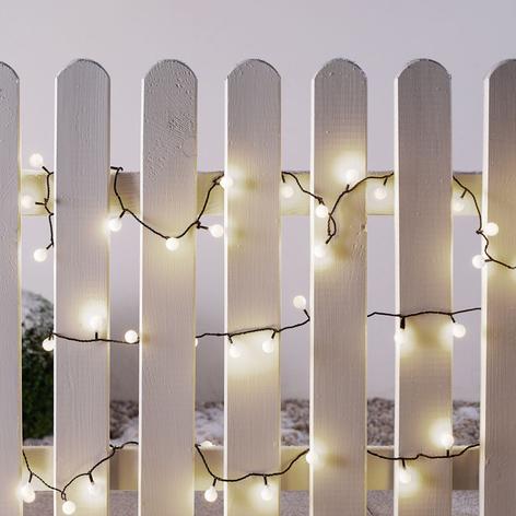 Mini světelný řetěz LED venkovní 80 žár. 11,32 m