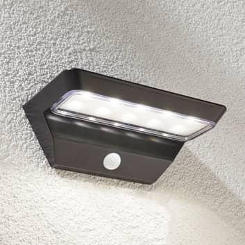 Emilio - solcelle væglampe med sensor og LED