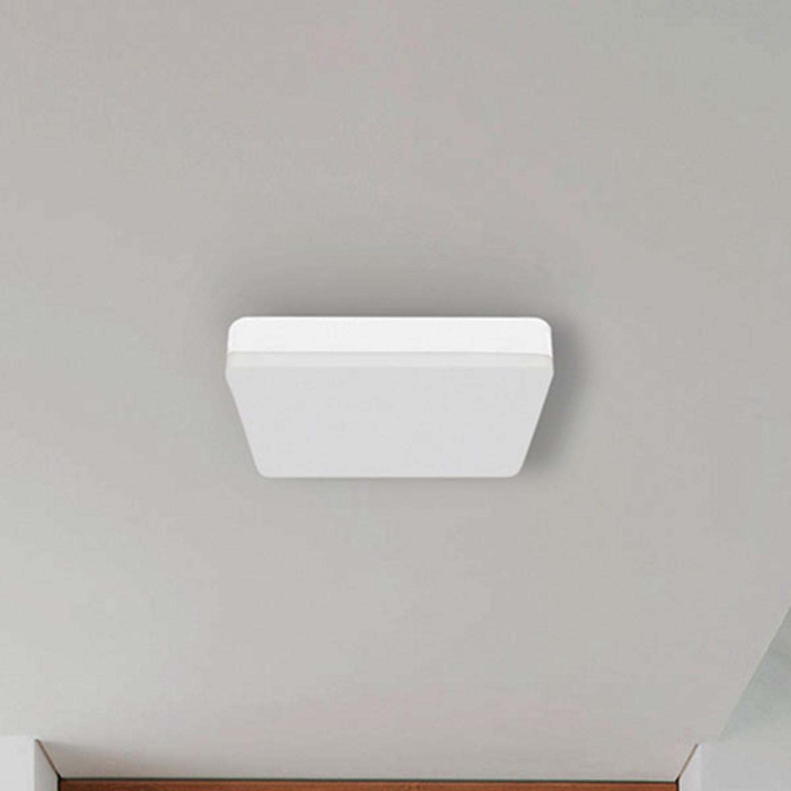 LED-Bad-Deckenleuchte Square mit Bewegungsmelder