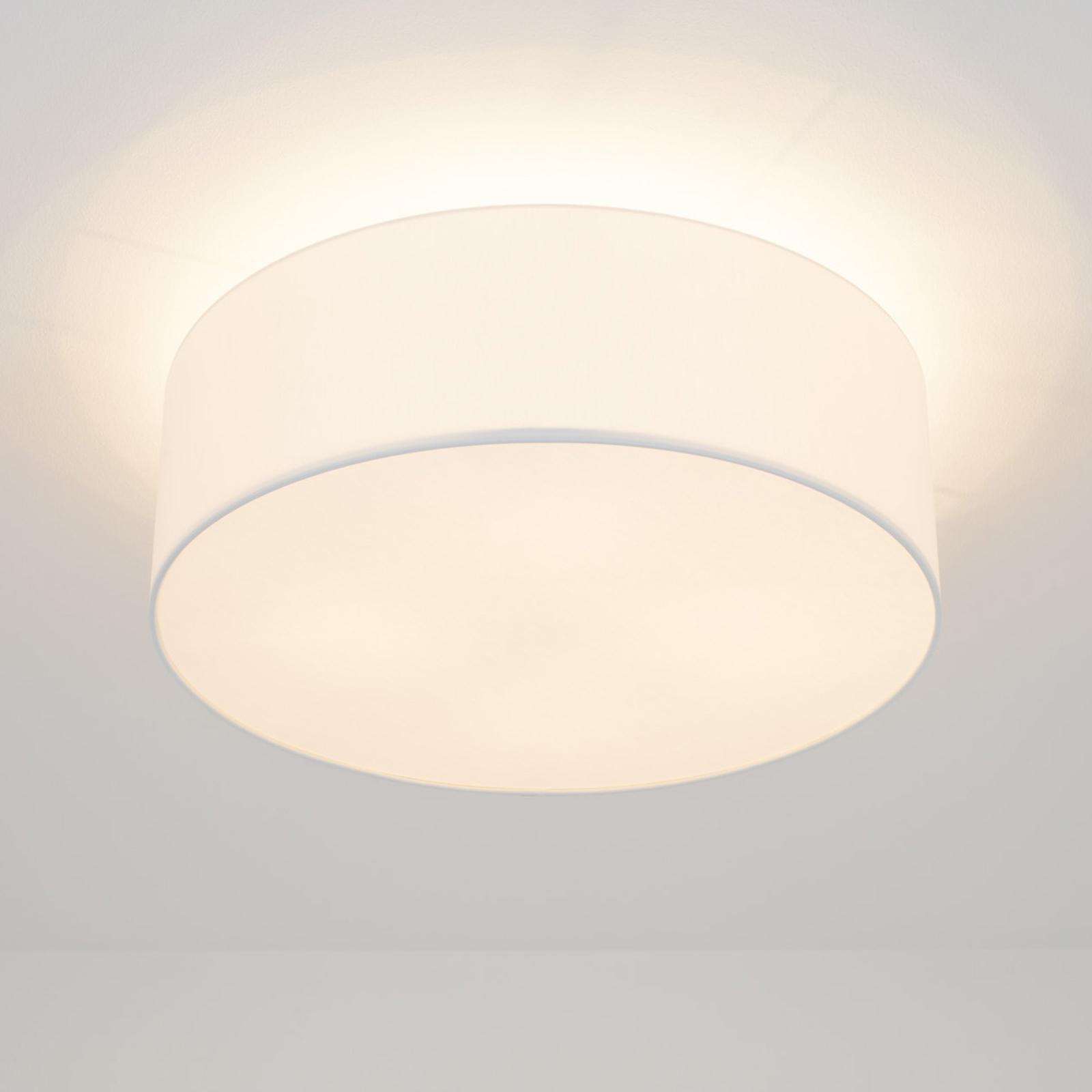 Lampa sufitowa LED Gala, 50 cm, klosz chinz biały
