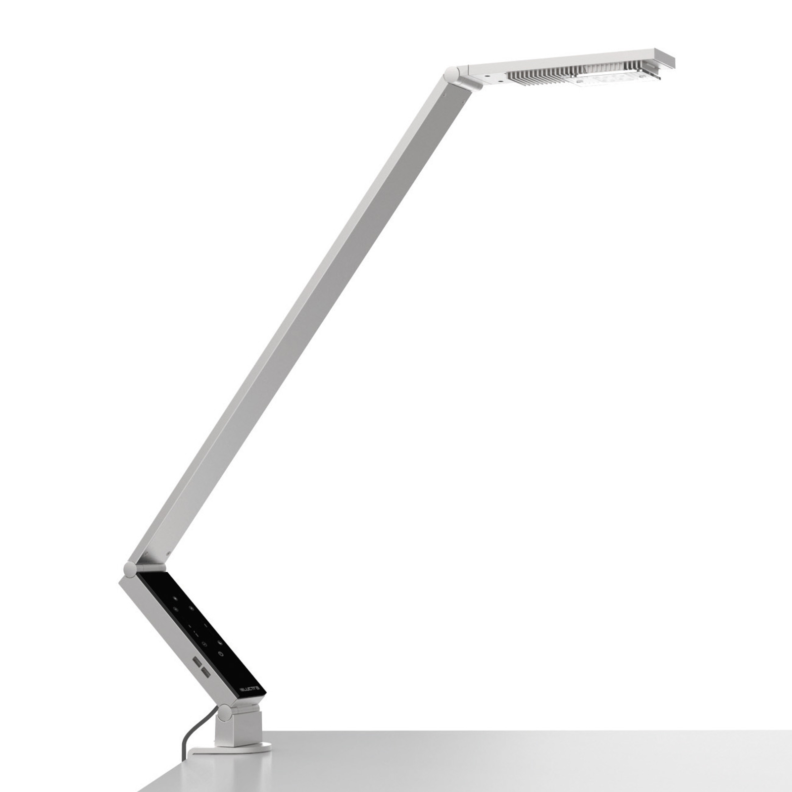 Luctra TableProLinear lampe à poser pince alu