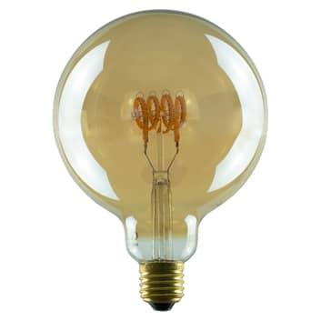 SEGULA LED-globepære 125 Curved E27 8 W gull