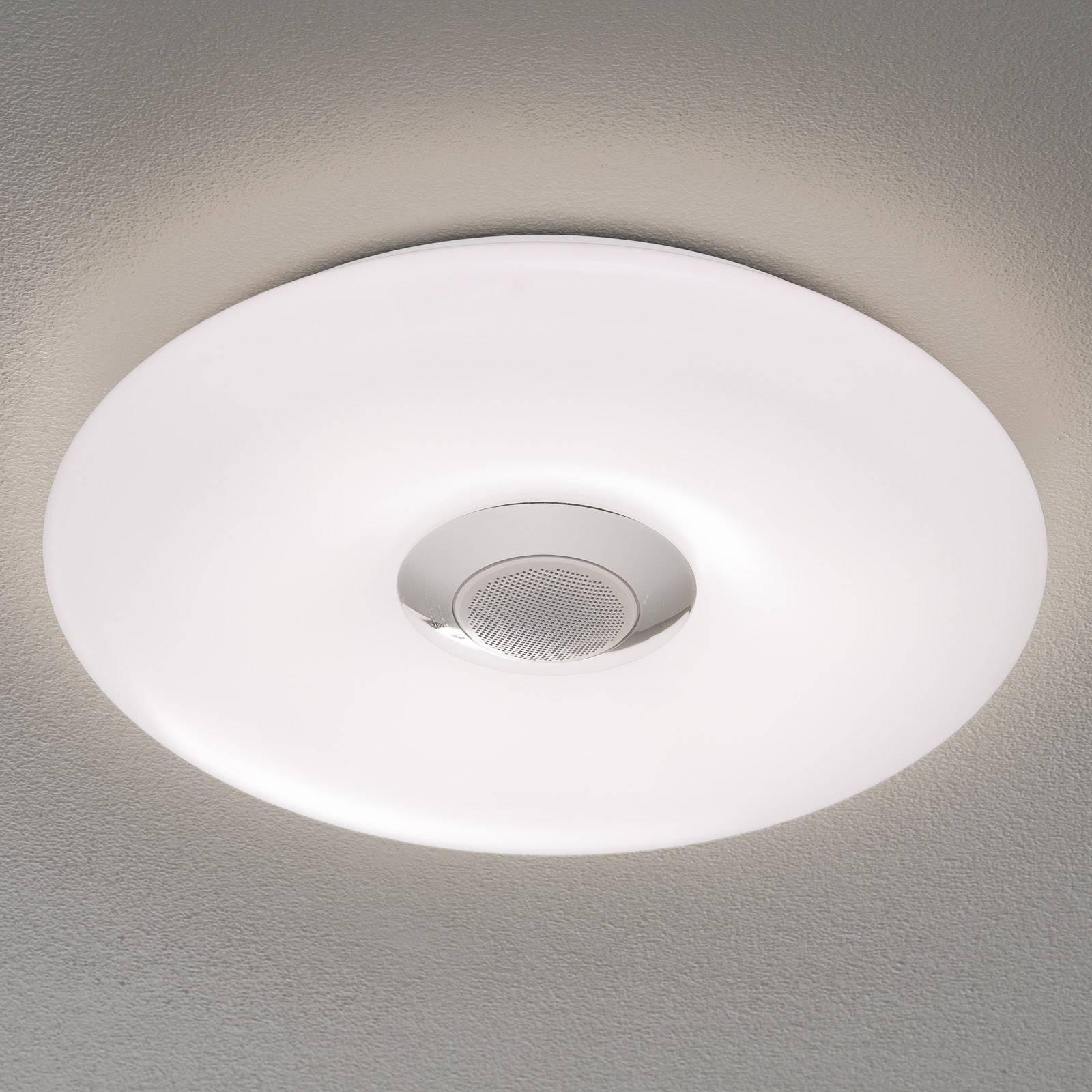 Nashville – lampa sufitowa LED z głośnikiem