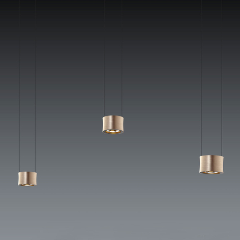 BANKAMP Impulse lampada LED a sospensione a 3 luci