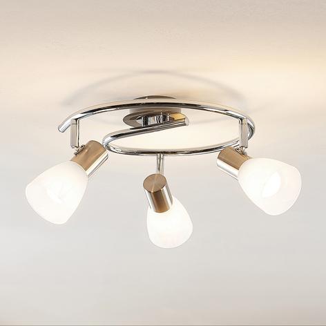 ELC Kamiran stropné LED svietidlo 3-plameňové