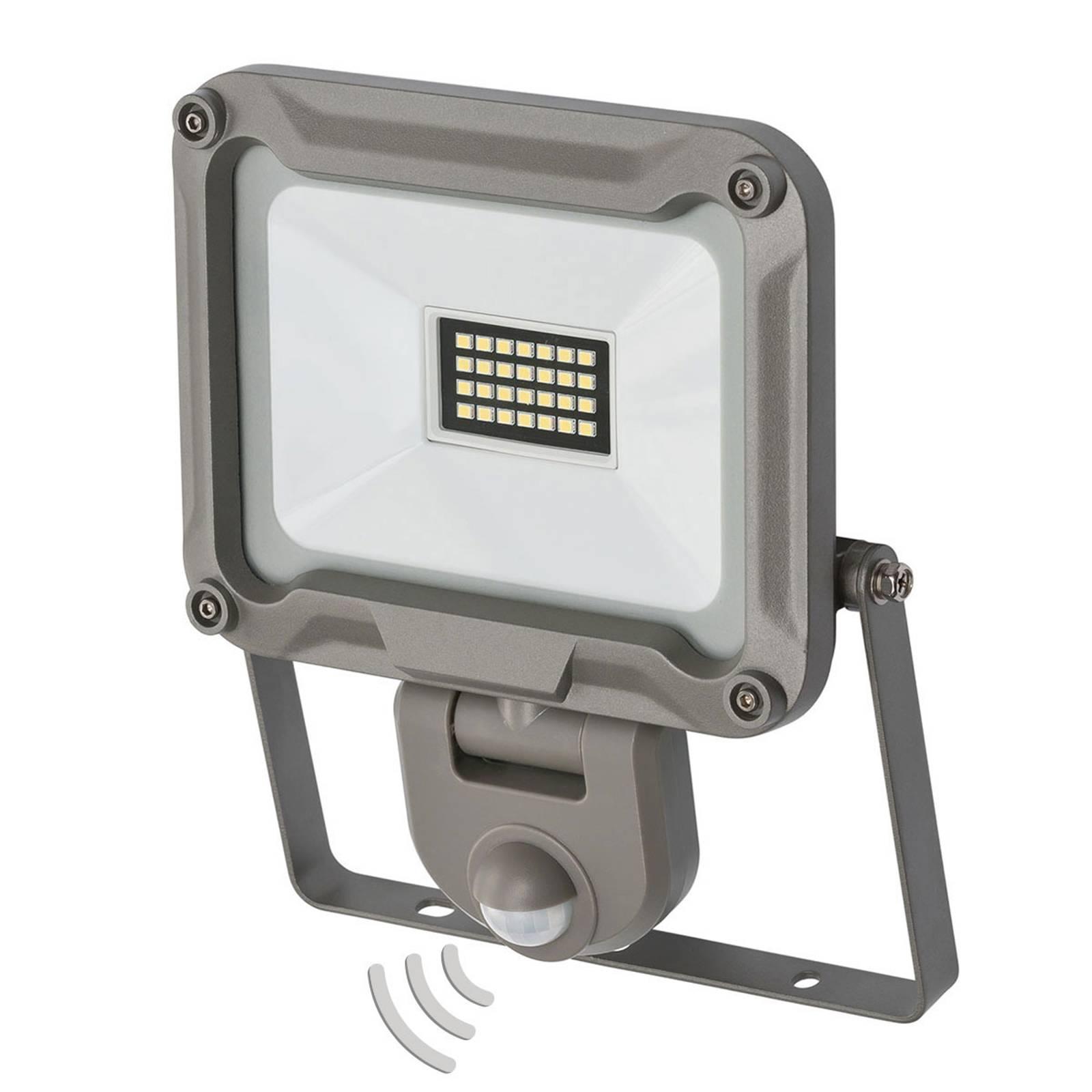 LED buitenspot Jaro met sensor IP44 20W
