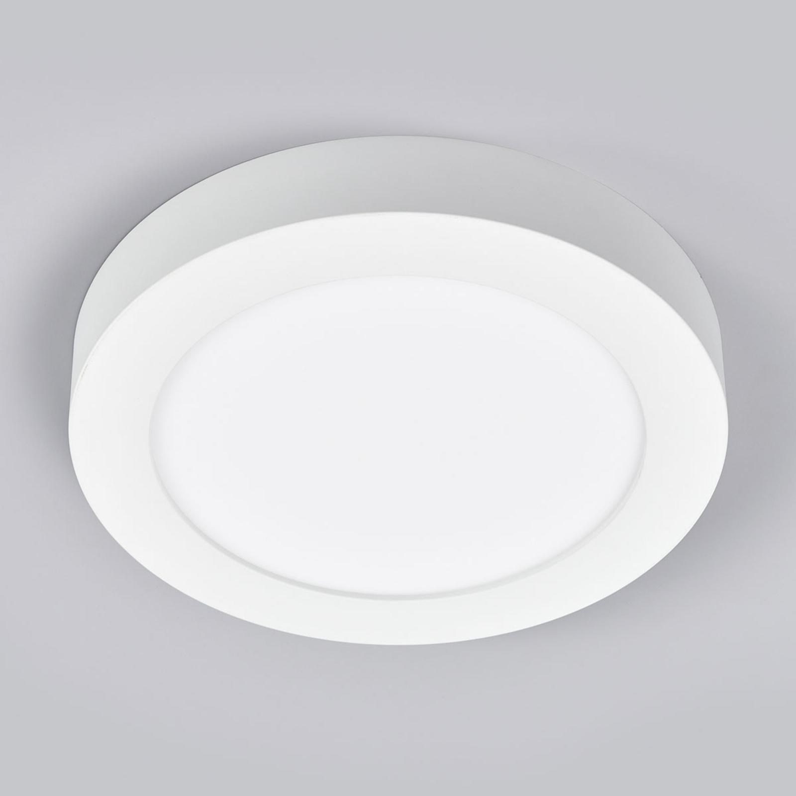 LED-Deckenlampe Marlo weiß 4000K rund 25,2cm