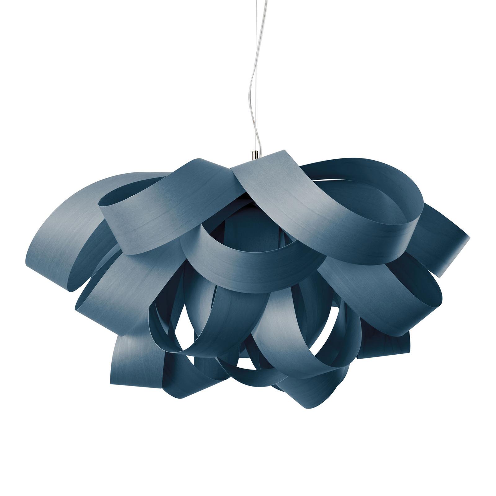 LZF Agatha Small hengelampe, 78x76cm, blå
