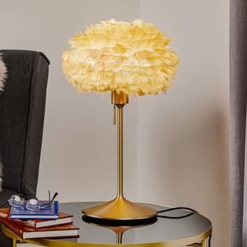 UMAGE Eos mini bordslampa brun Champagne mässing