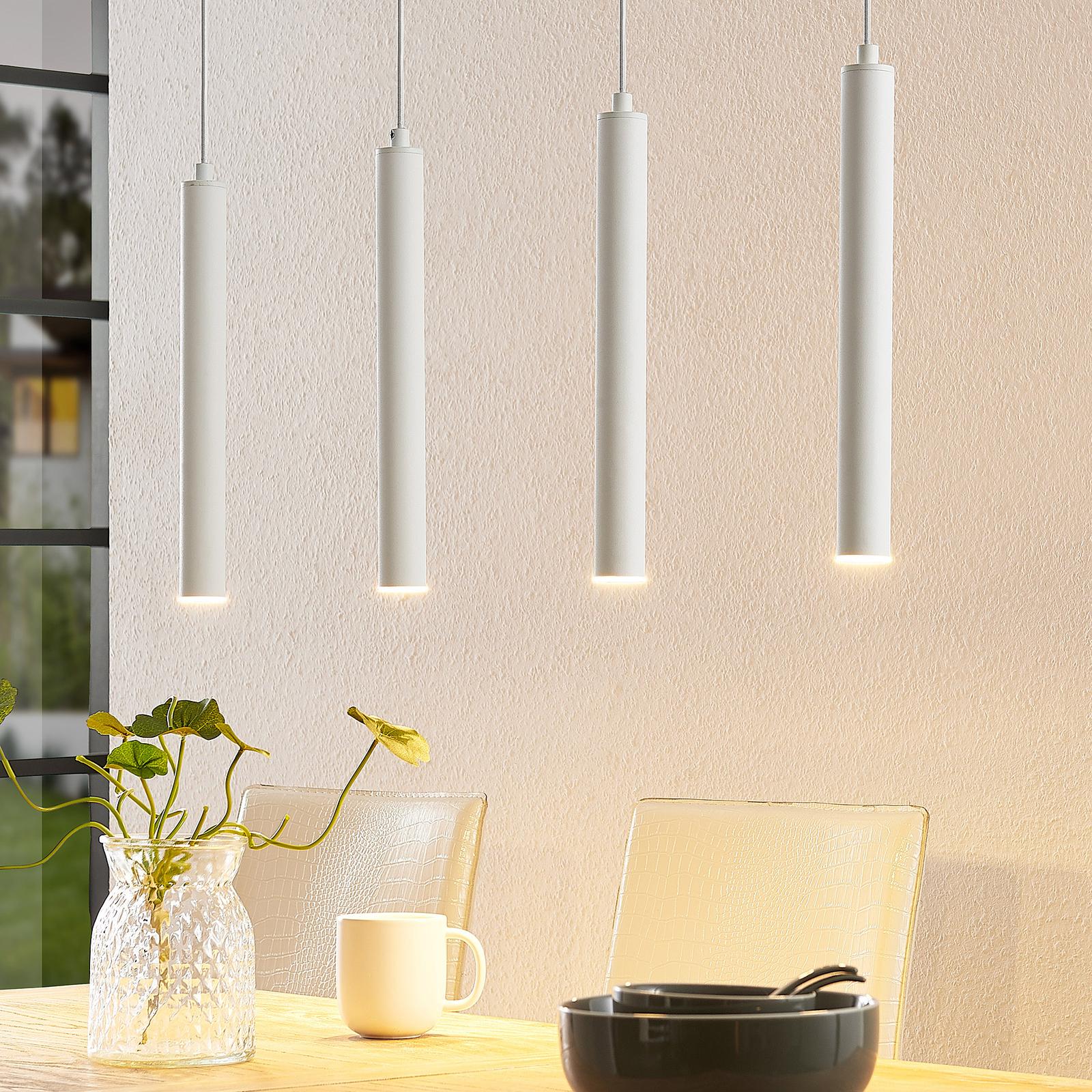 Arcchio Kammeron lámpara colgante LED, blanca