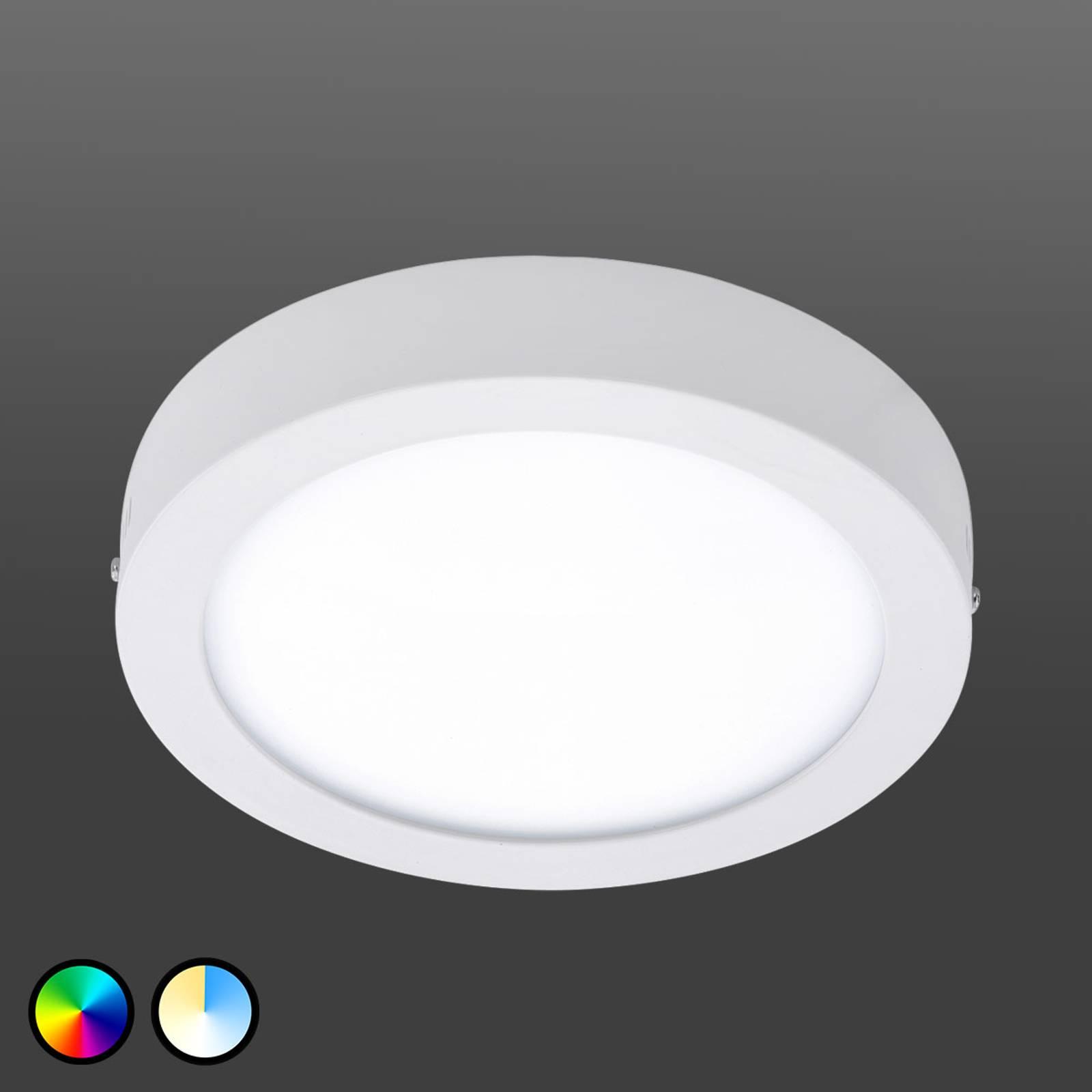Plafoniera EGLO connect Fueva-C 22,5 cm bianca