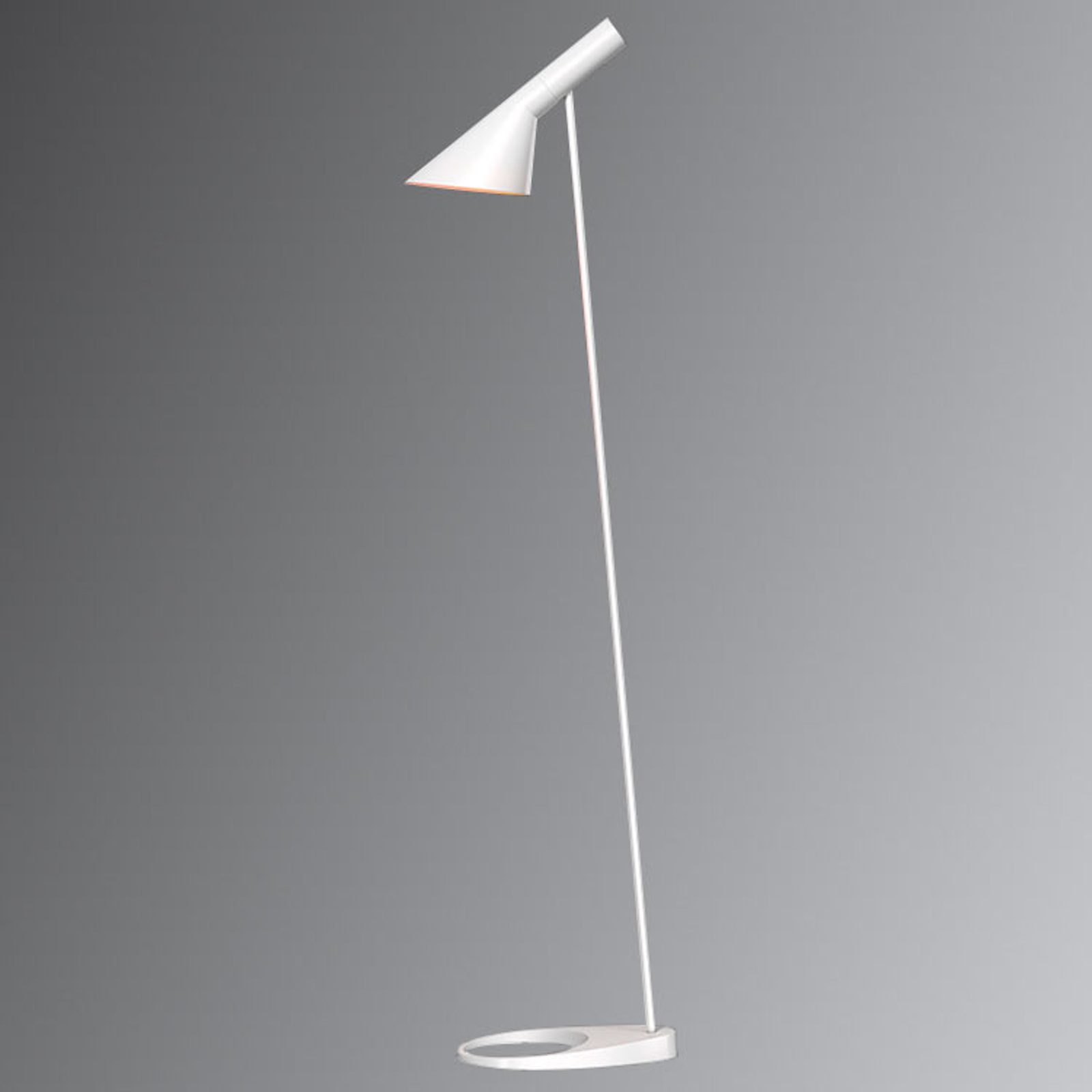 Louis Poulsen AJ - vloerlamp, wit