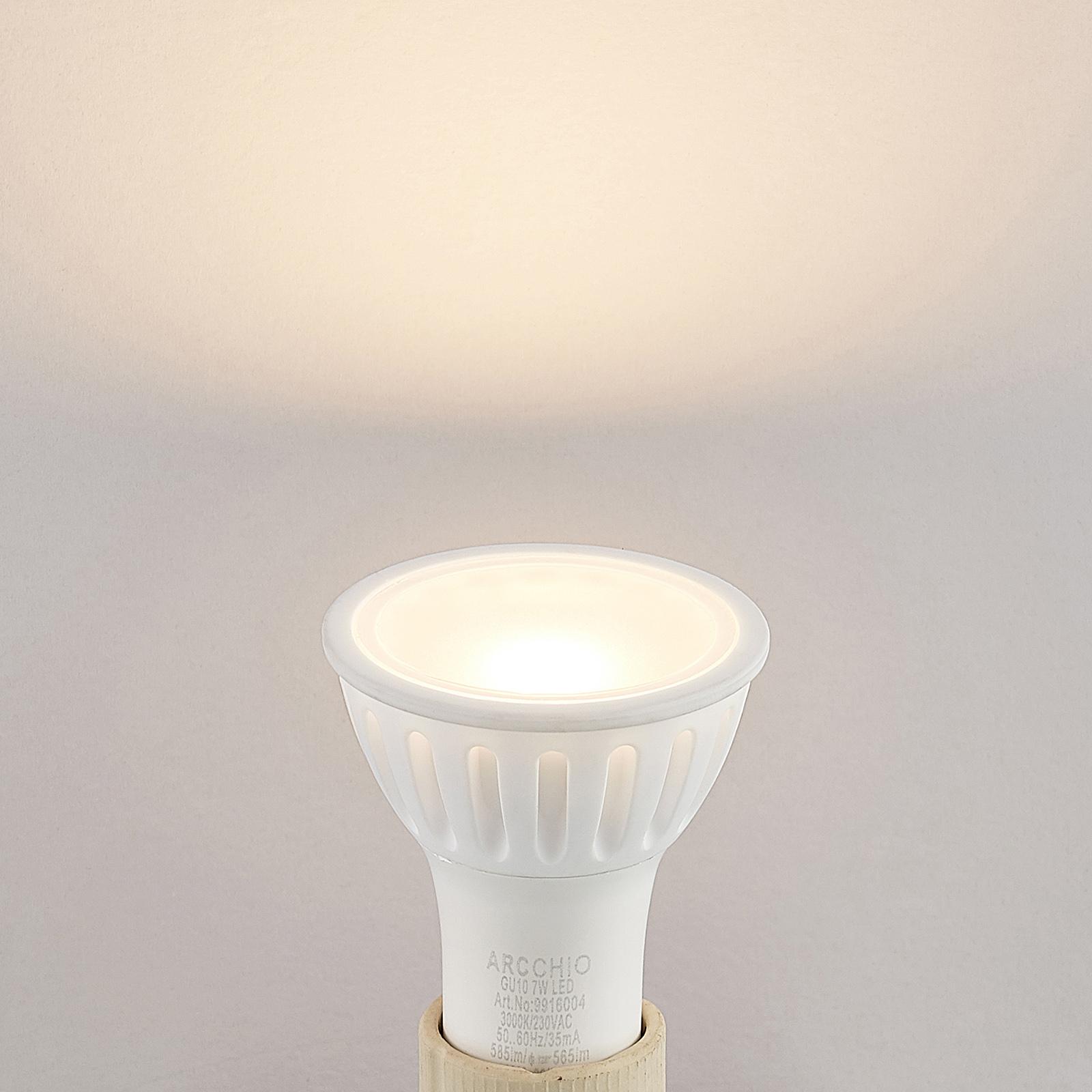 Arcchio LED reflector GU10 100° 7W 3.000K dimbaar