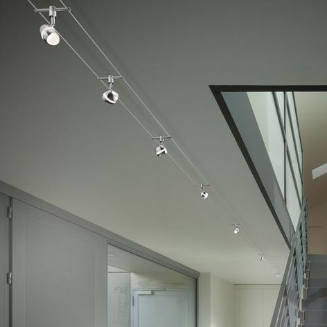 Shark - moderne LED wiresystem, 7 lys