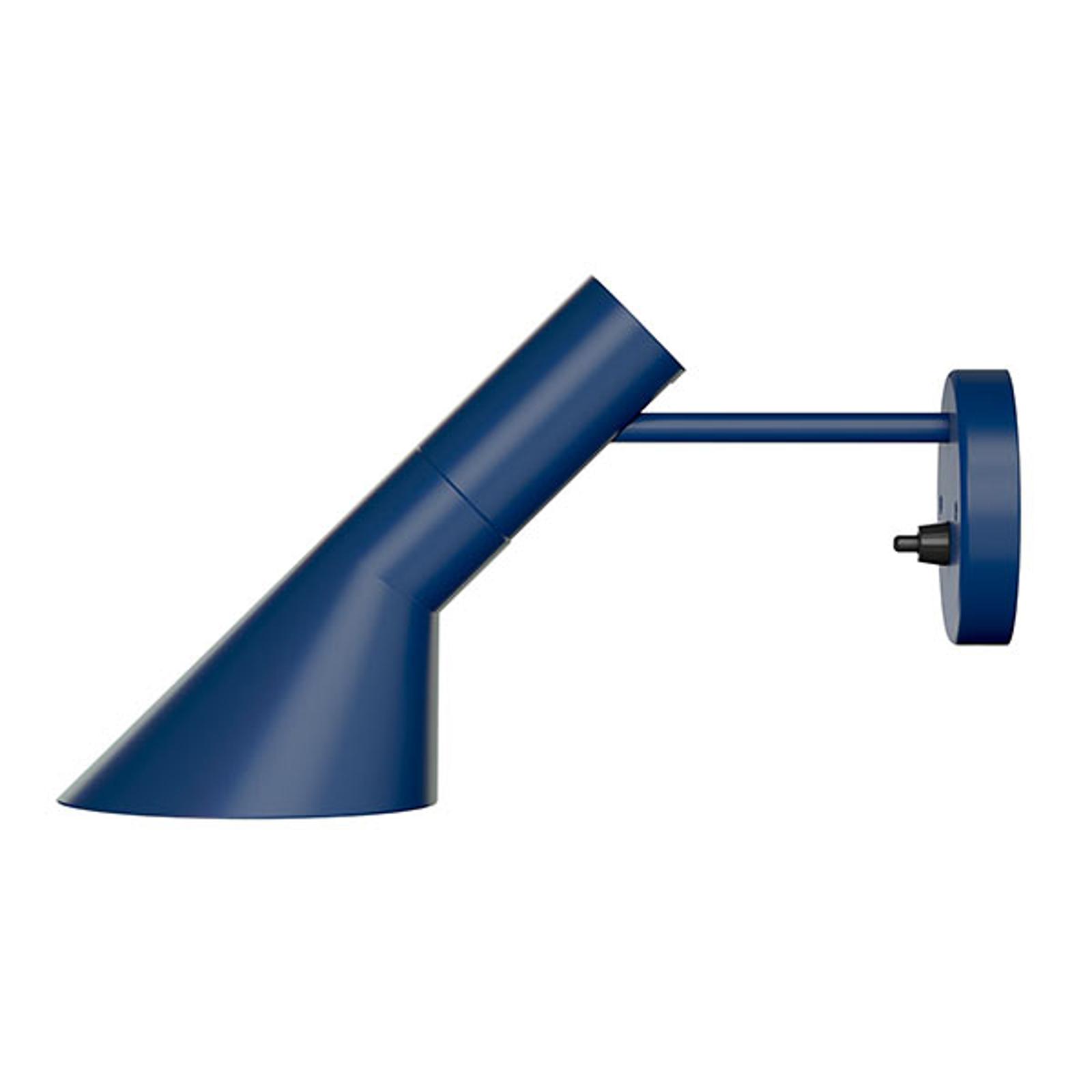 Louis Poulsen AJ - vegglampe, mørkeblå