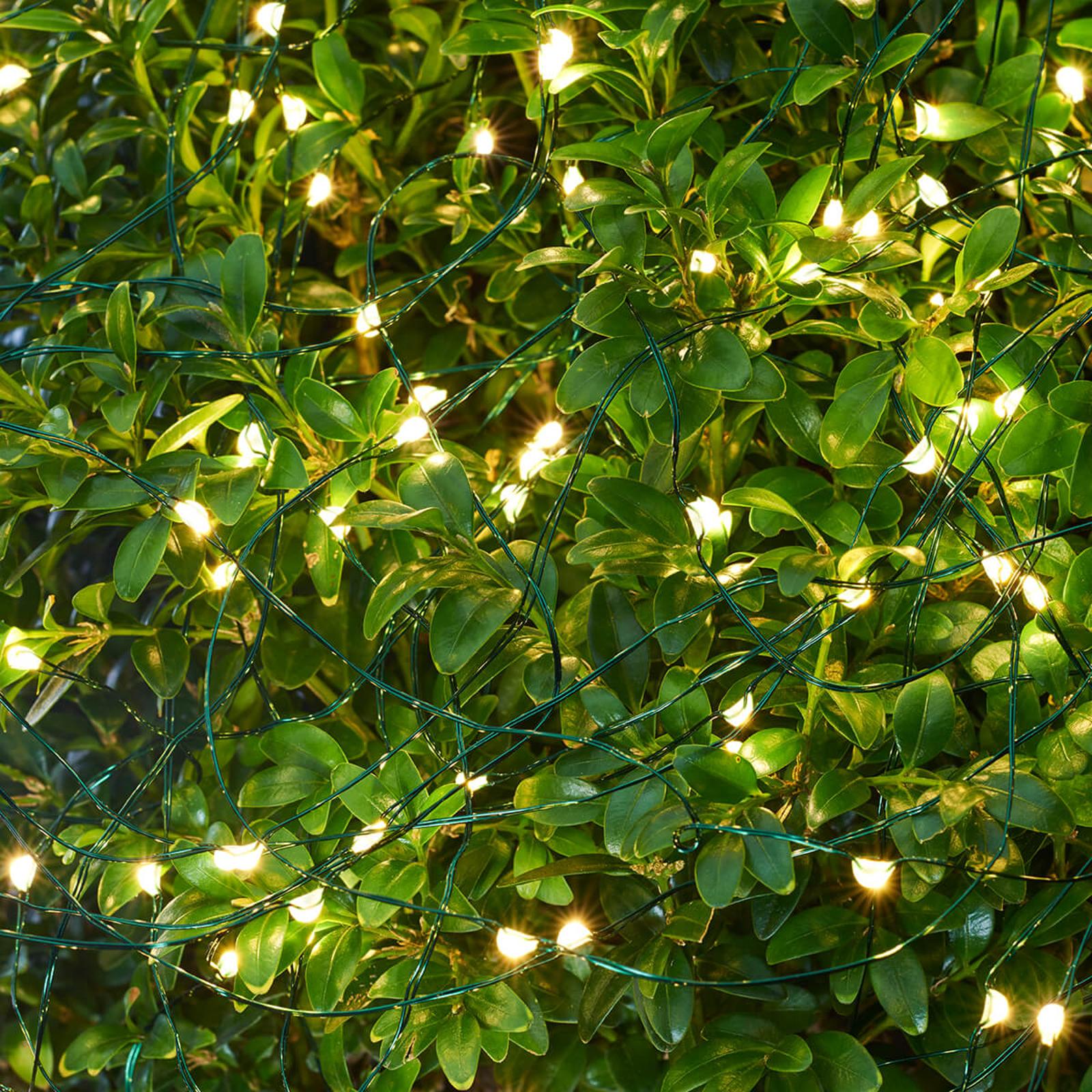 LED lichtketting Knirke voor buiten, 15 strengen