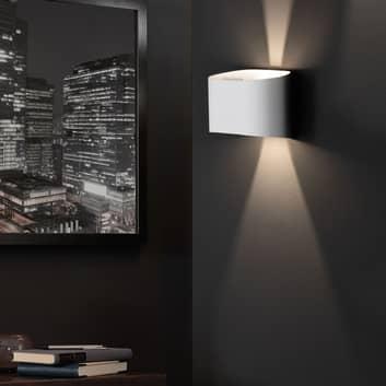 LED-Wandleuchte Wall, zweiflammig, rund
