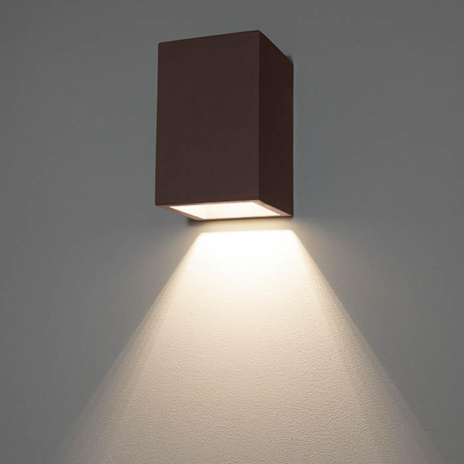 LED-Außenwandlampe 1097 abwärts strahlend, schwarz