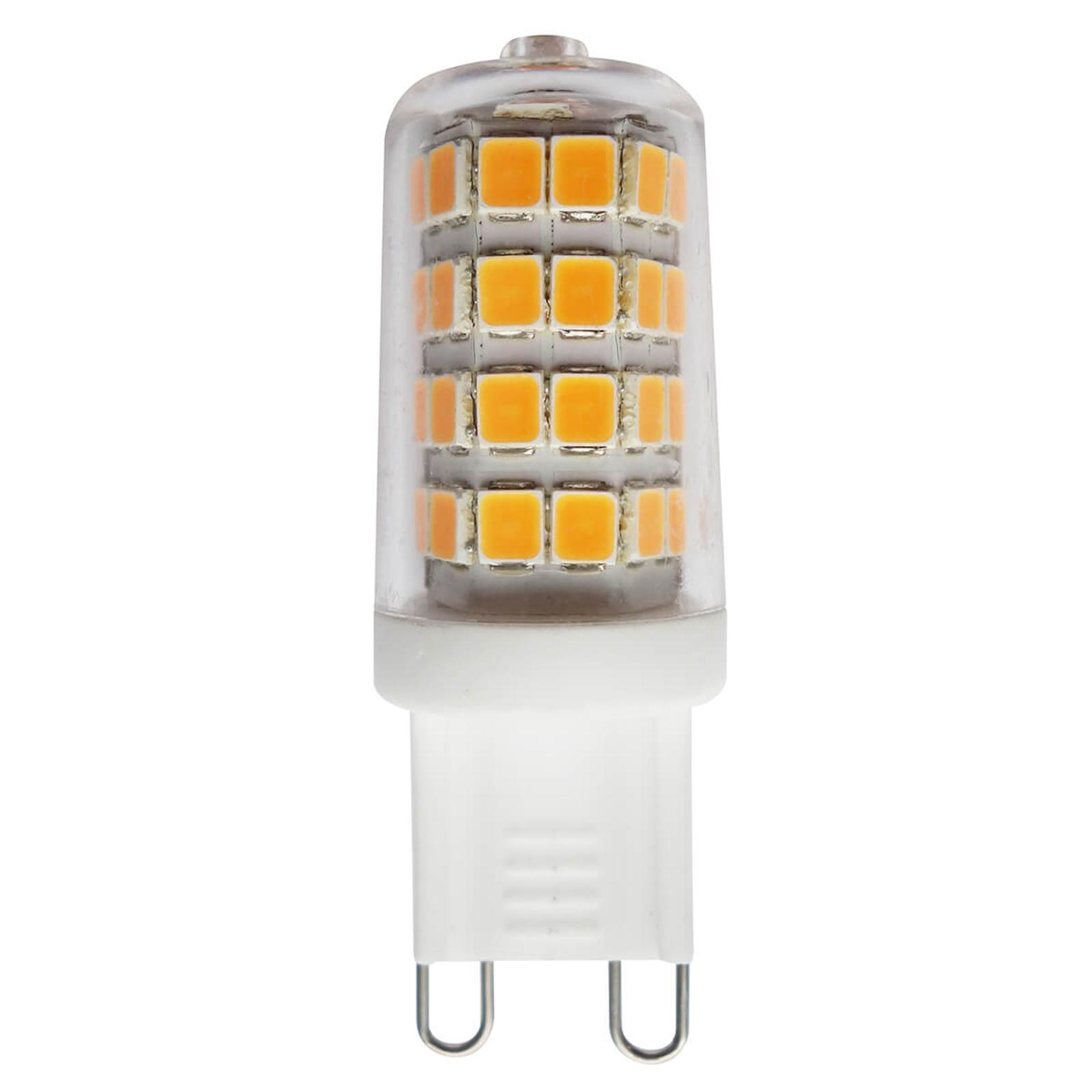 G9 3W 827 LED a perno, trasparente