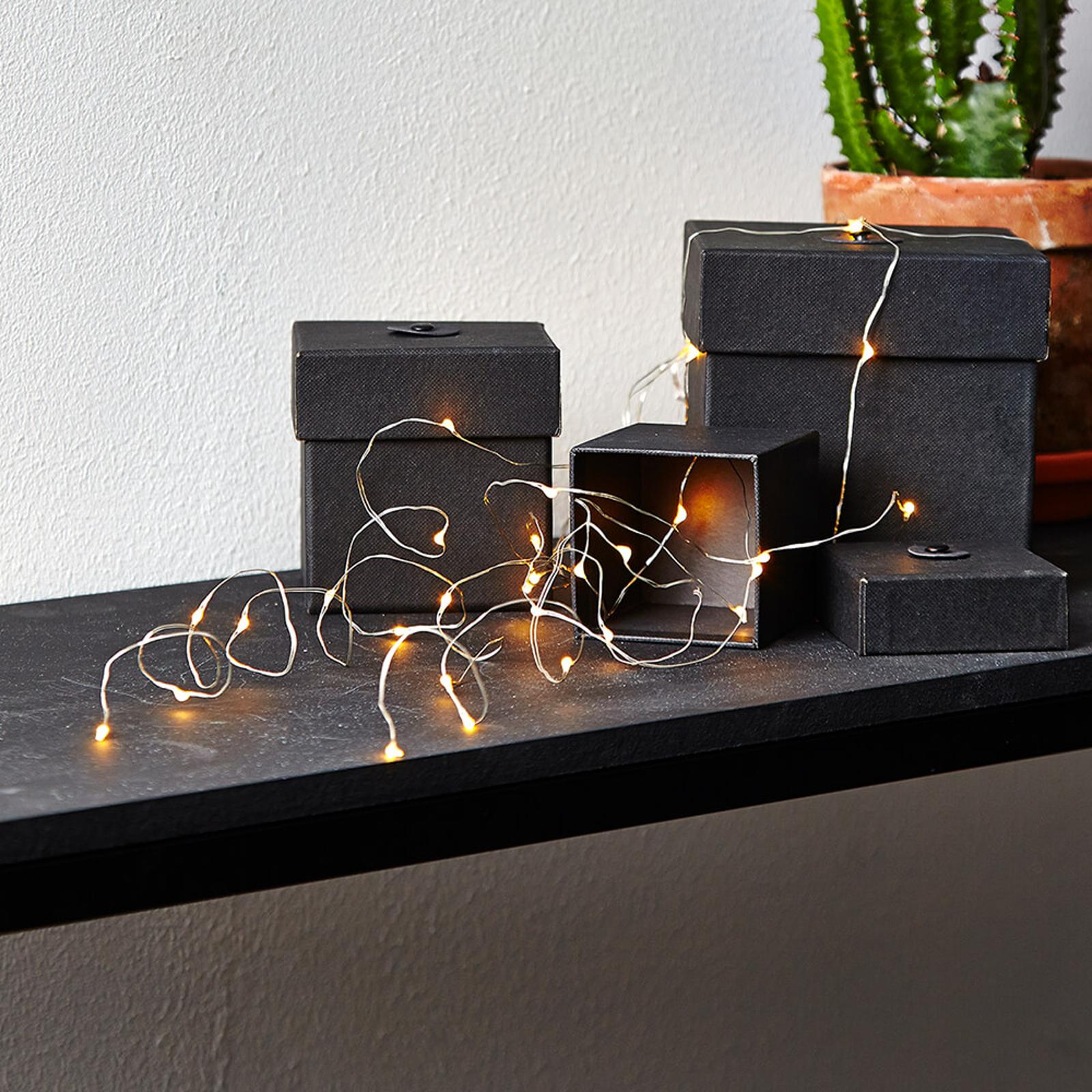 Fem stilker - LED-lysbuketten Dew Drop