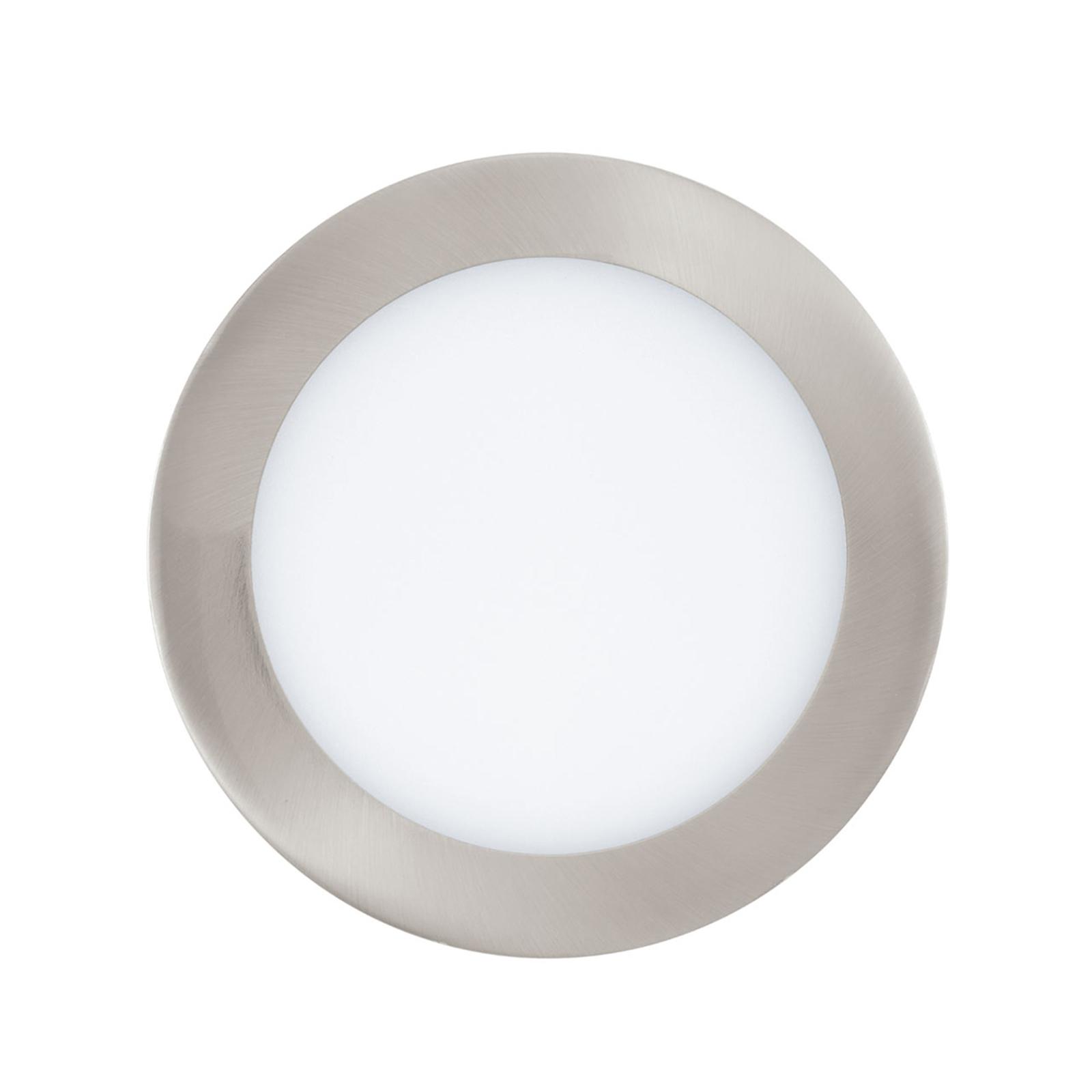 Eglo Connect Fueva-C innfellingslampe nikkel 17cm