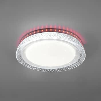 LED stropní světlo Thea, RGB, CCT, stmívatelné