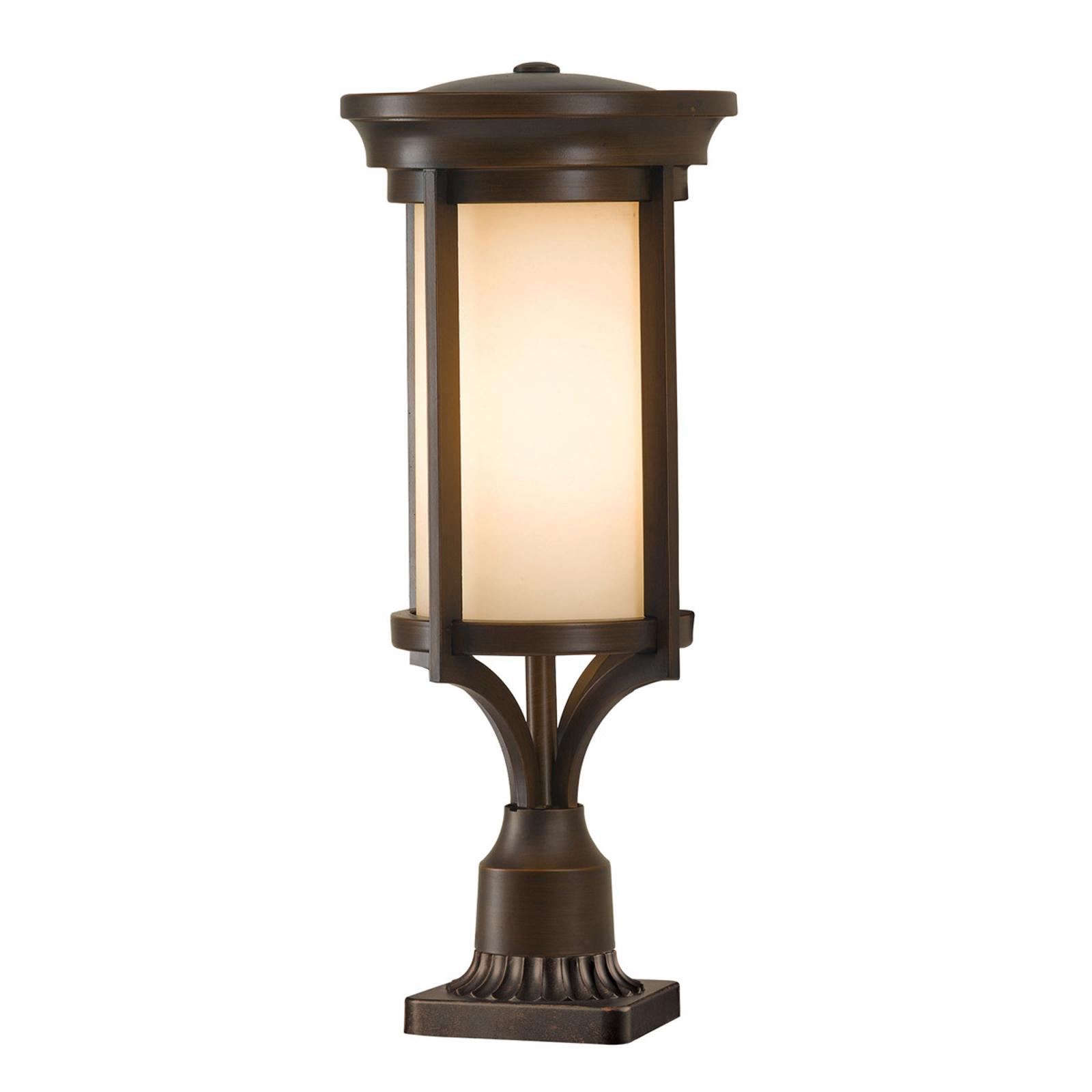 Sokkellamp Merrill in brons