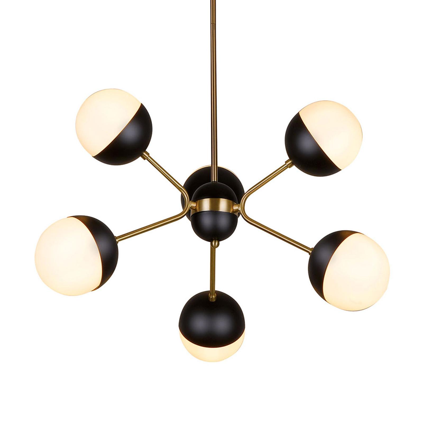 Lampa wisząca Orbit, 6-punktowa