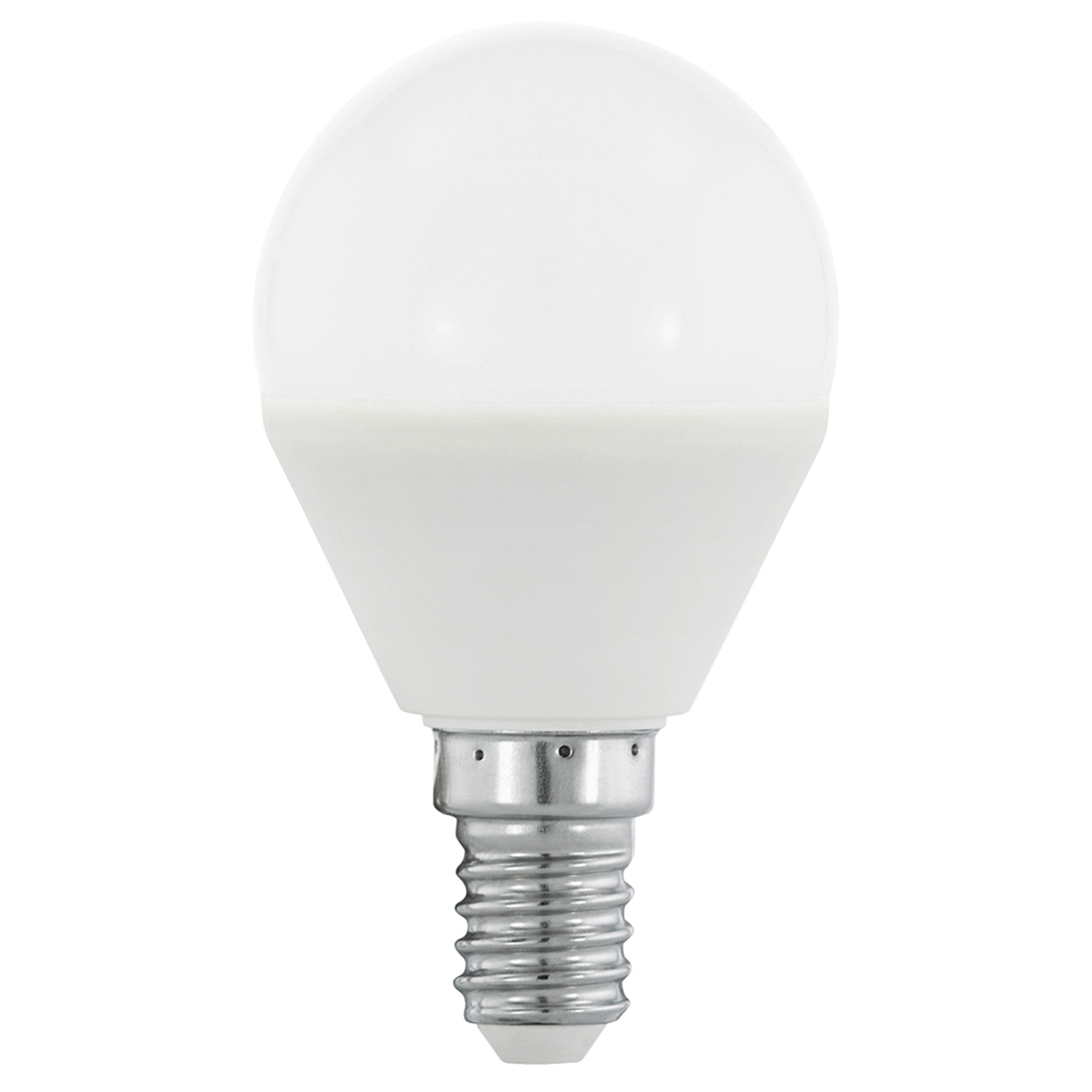 LED E14 4 W 830 bombilla de globo mate, RGB