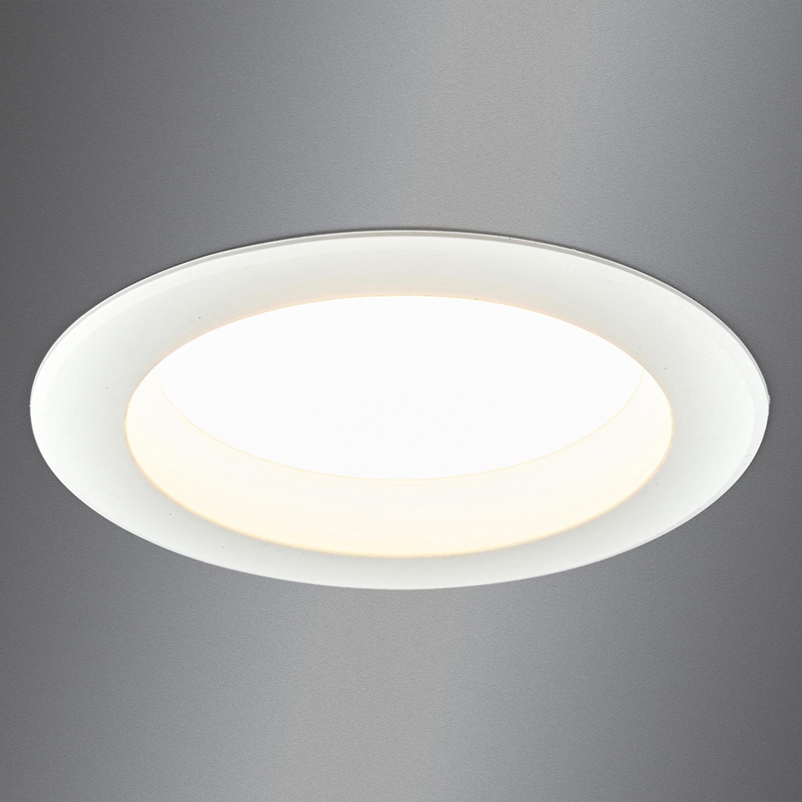 Arian - LED-inbyggd spot i vitt, 14,5cm 12.5W