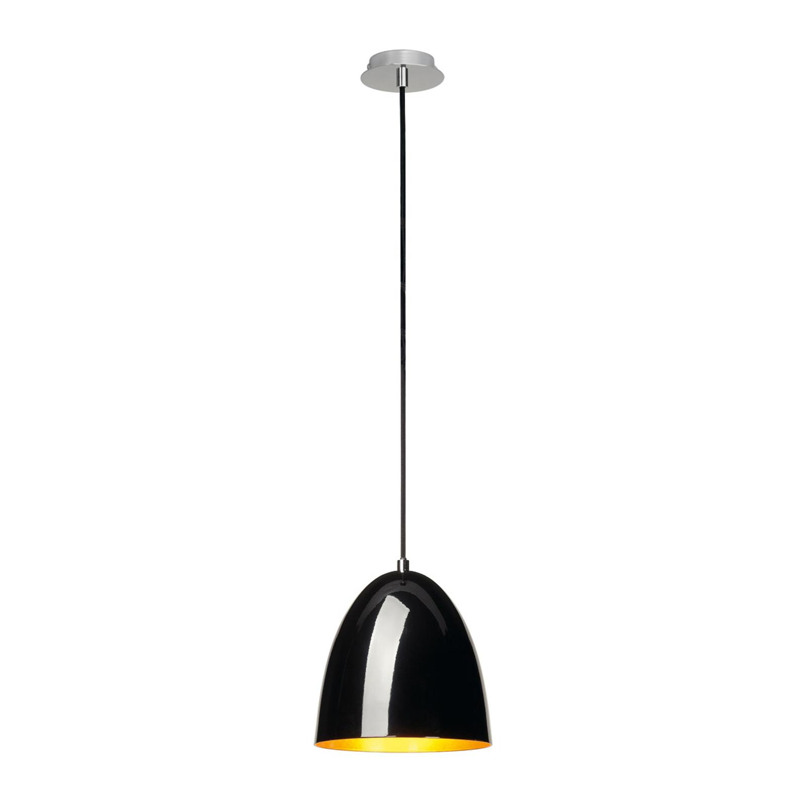SLV Para Cone 20 lampa wisząca czarny/złoty